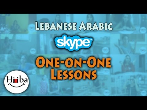 Lebanese one-on-one Skype Lessons