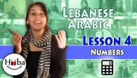 Lebanese Lesson 4 (Numbers)
