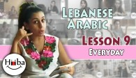 Lebanese Lesson 9 (Everyday Sentences)