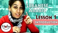 Lebanese Language Lesson 1