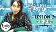 learning lebanese lesson 2 (airport)